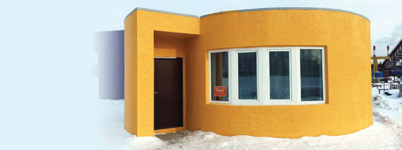 Watch The World's First 3D Printed House Take Shape